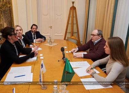 Геннадій Кернес зустрівся з заступником голови місії ОБСЄ в Україні