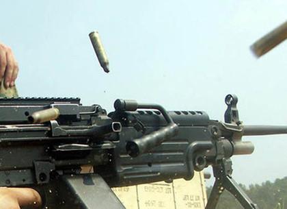 Скандал завершили расстрелом из пулемета под прицелом телекамер (ФОТО,ВИДЕО)