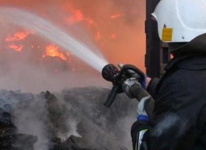 Пожар не позволил технике своевременно выехать на ремонт дорог