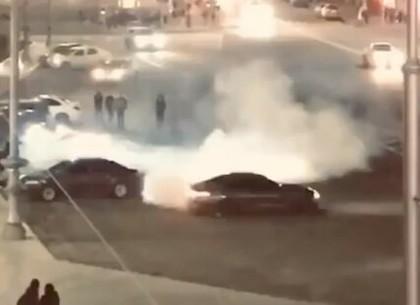 Дрифтер в центре Харькова: полиция открыла уголовное дело