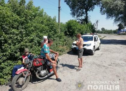 Пьяный мотоциклист в центре города: копы задержали нарушителя