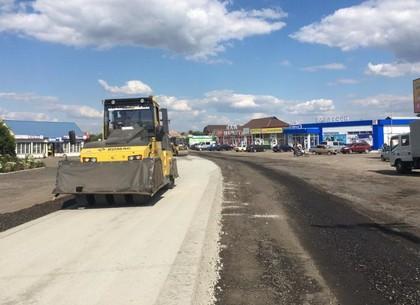 В этом году дорожники отремонтируют 18,3 км дороги Чугуев - Печенеги - Великий Бурлук