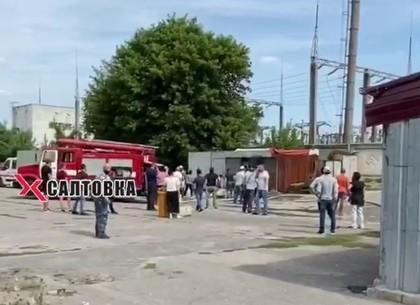 Пожар на Барабашова: сгорел магазин