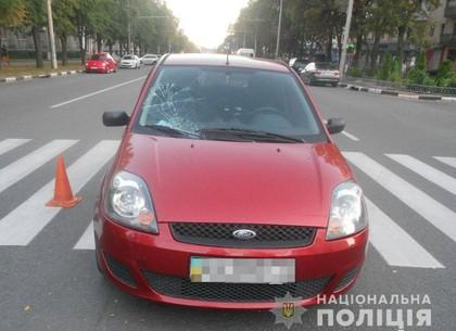 Авто-леди, рванув по встречке, снесла мужчину прямо на пешеходном переходе (ФОТО, ВИДЕО)