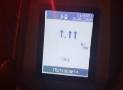 Харьковские полицейские задержали осередного водителя со смертельной дозой алкоголя
