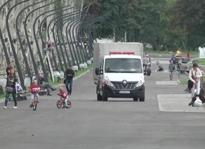 У парку Перемоги вандали пошкодили фонтани і газони