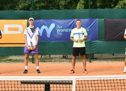 Харківський тенісист виграв парний титул на міжнародних змаганнях