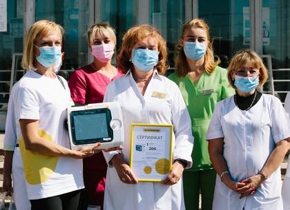 Опорные больницы Харьковщины получили 4 аппарата ИВЛ