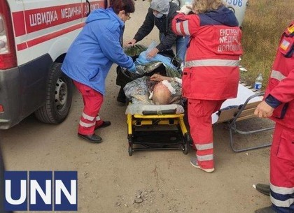 ФОТО: В Харьковской области взорвалась газораспределительная подстанция: есть пострадавшие (УНН)