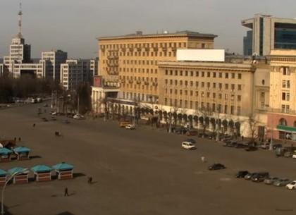 Движение по площади Свободы ограничено до февраля (Горсовет)