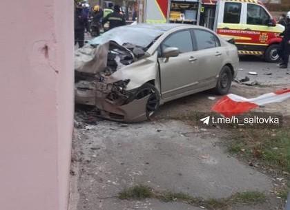 ДТП: жесткая авария на Салтовке - пять человек в неотложе (Telegram)