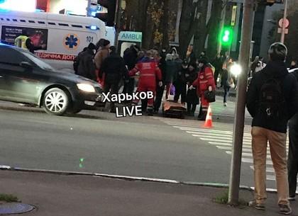 В Харькове автомобиль наехал на пешеходов - трое пострадавших, среди них ребенок (FB Игорь Терехов)