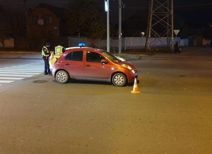 ФОТО: На пешеходном переходе сбили девушку (ГУ ГП)