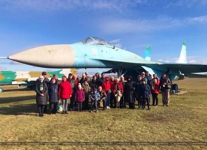 Для харьковчан провели социальную экскурсию на аэродром «Коротич» (ХГС)