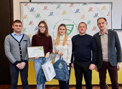 Награждены студенты, разработавшие фирменный стиль для спортивных организаций (Харьков спортивный)