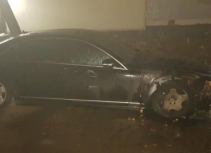 ВИДЕО поджога автомобиля в Солоницевке выложили в Сеть (Telegram)