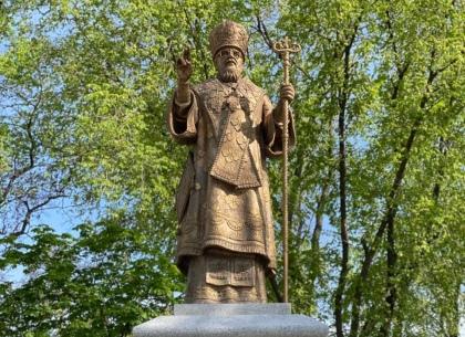 Игорь Терехов на освящении памятника Владыке Никодиму: Он был духовным отцом для многих харьковчан