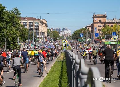 Внимание водителям: Велодень на три дня изменит схему движения в центре Харькова