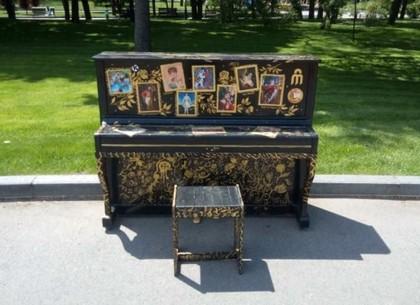 Разрисованные пианино появились на улицах Харькова