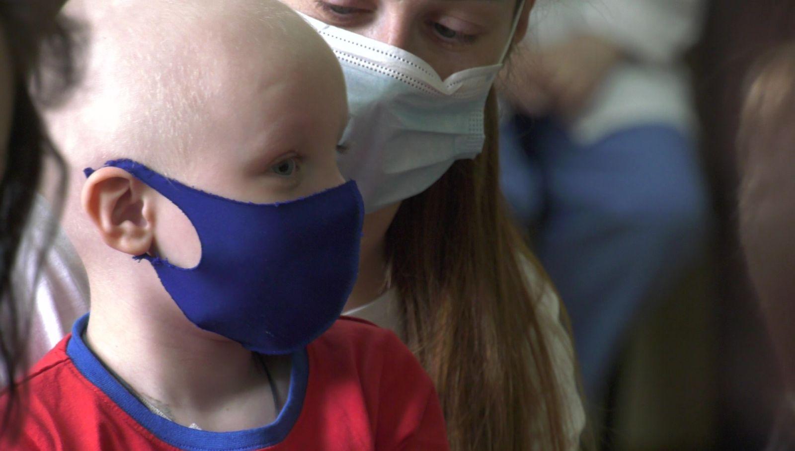 Терапию радости для маленьких пациентов больницы провели в Харькове