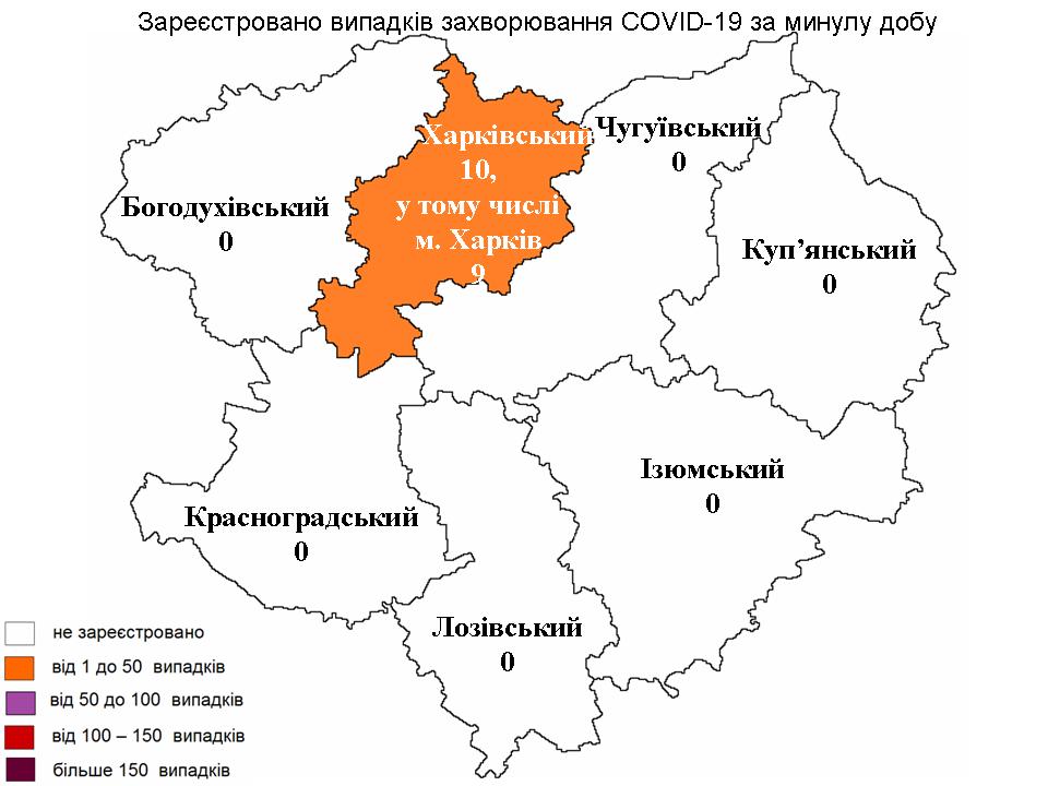 Коронавирус в Харькове: статистика на 7 июня