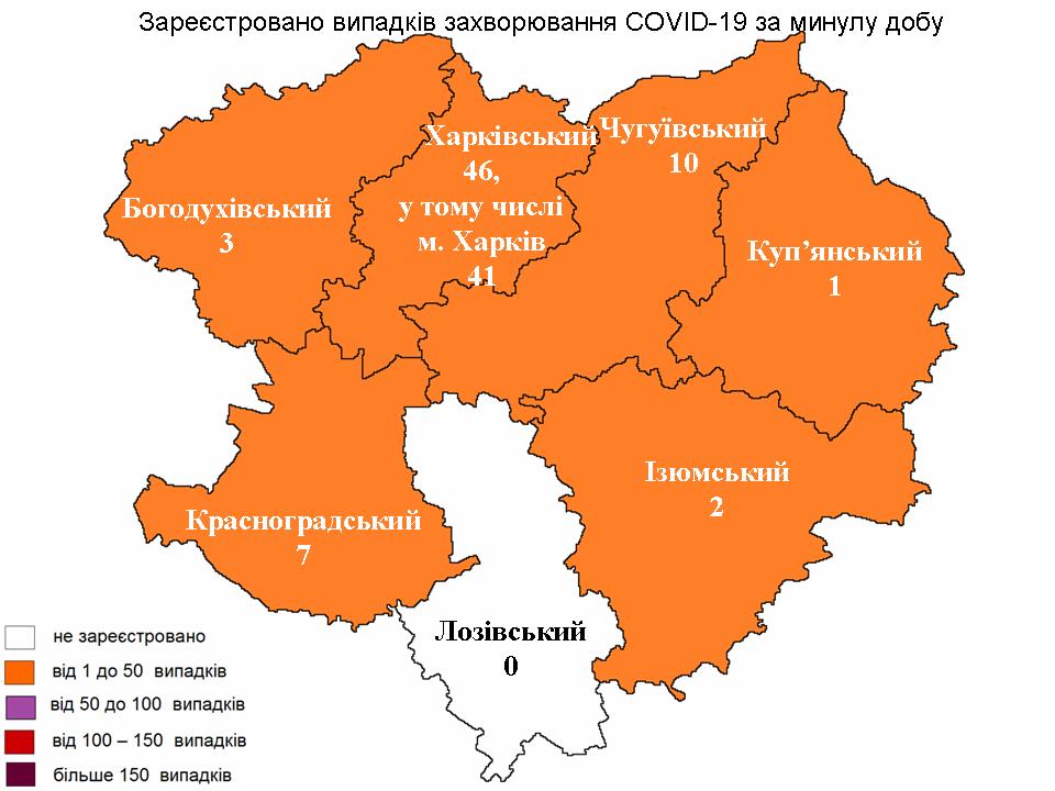 Коронавирус в Харькове: статистика на 11 июня