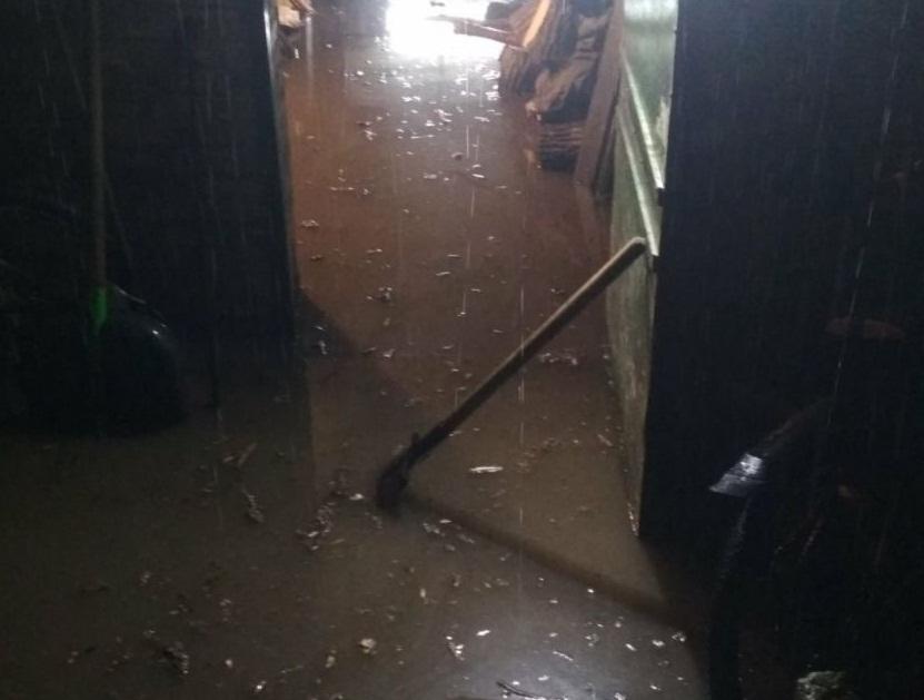 Последствия ливня в Изюме: спасатели до рассвета выкачивали воду
