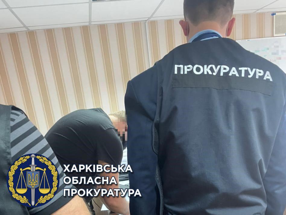 В Харькове полицейского чиновника уличили в торговле должностями