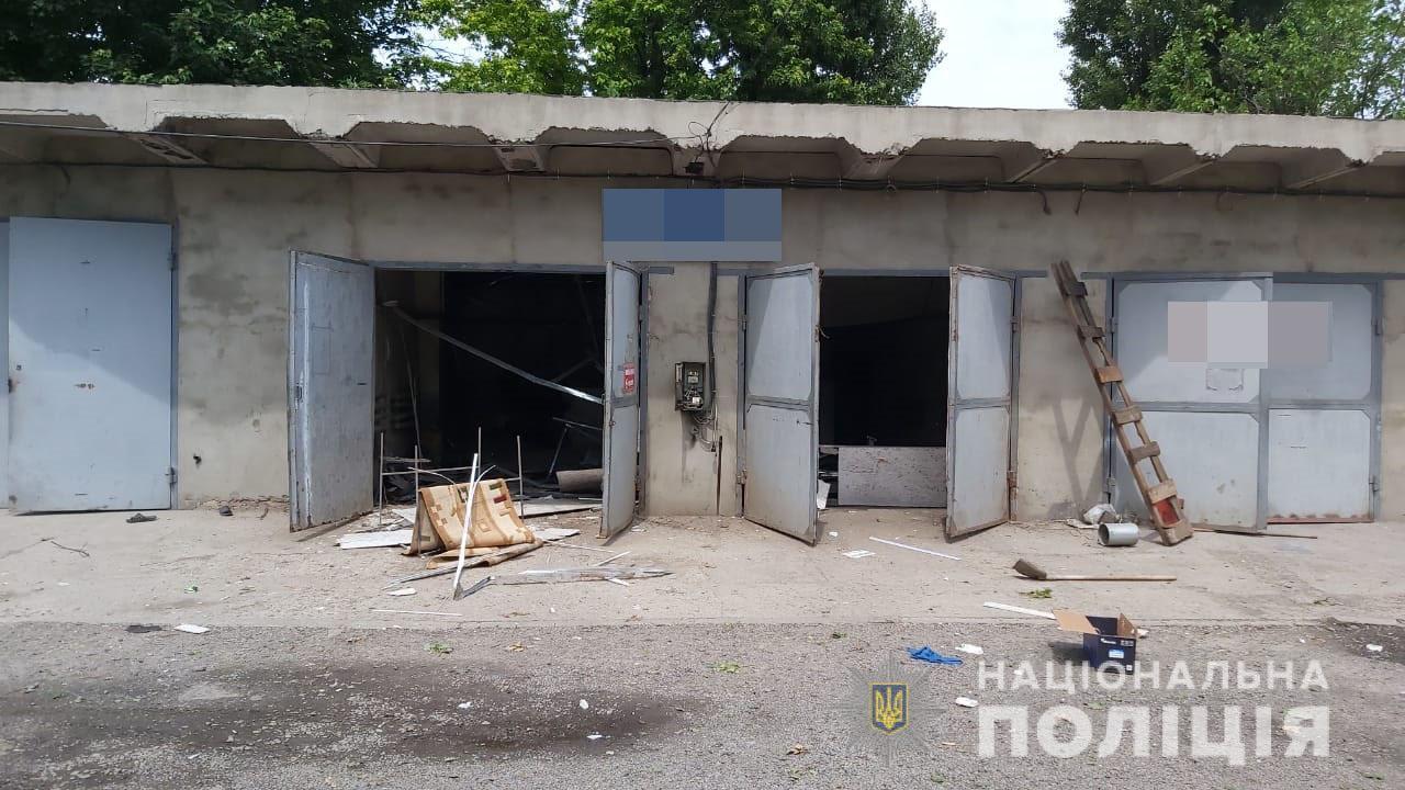 Под Харьковом взорвано здание. Новости Харькова