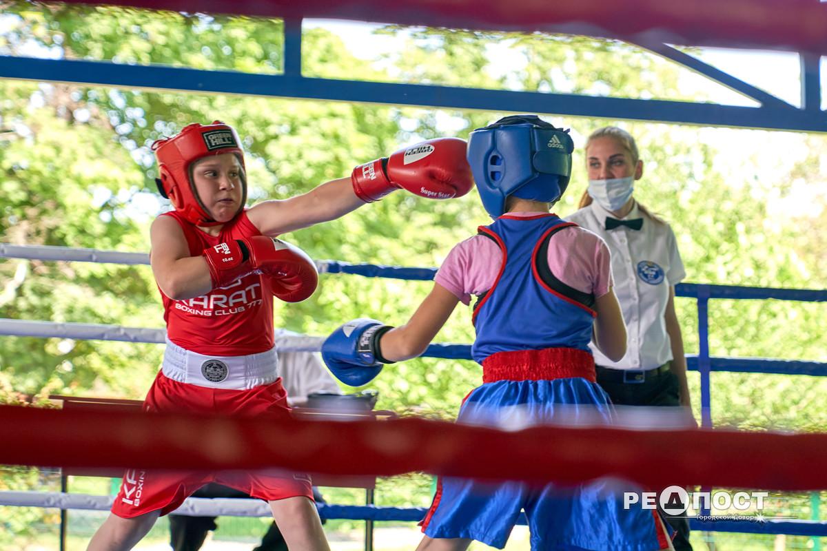 Турнир по боксу среди детей в Харькове
