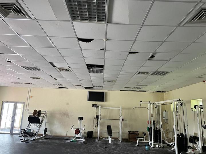 Разруха на тренировочной базе в Высоком. Новости Харкова