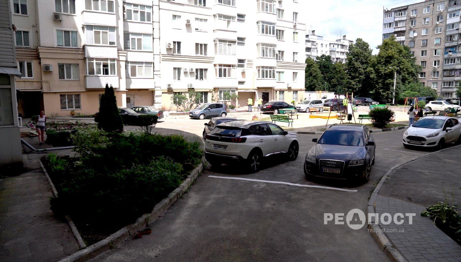 Новости Харькова: городские коммунальщики превращают дворы в парки