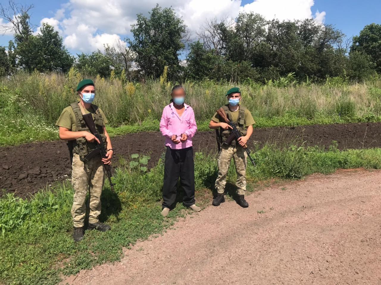 Новости Харькова. На границе с Россией местные жители помогли задержать нелегала