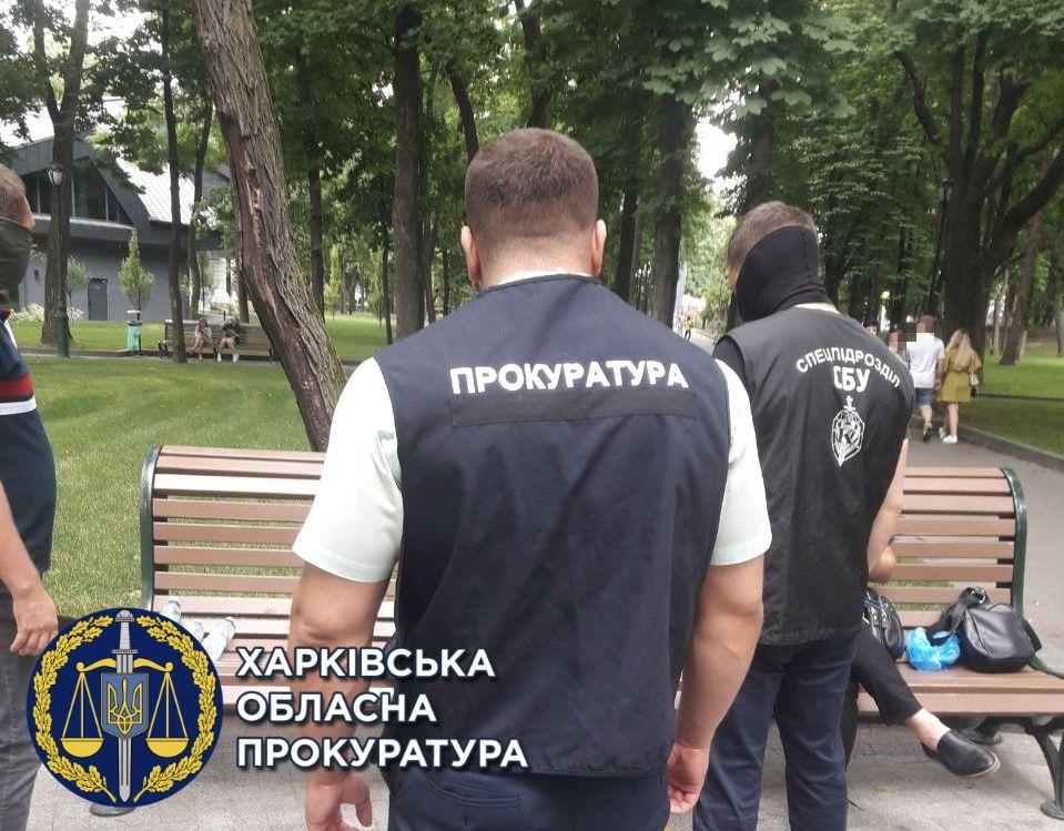 В Харькове на взятке попался чиновник управления по защите прав потребителей. Криминал Харьков