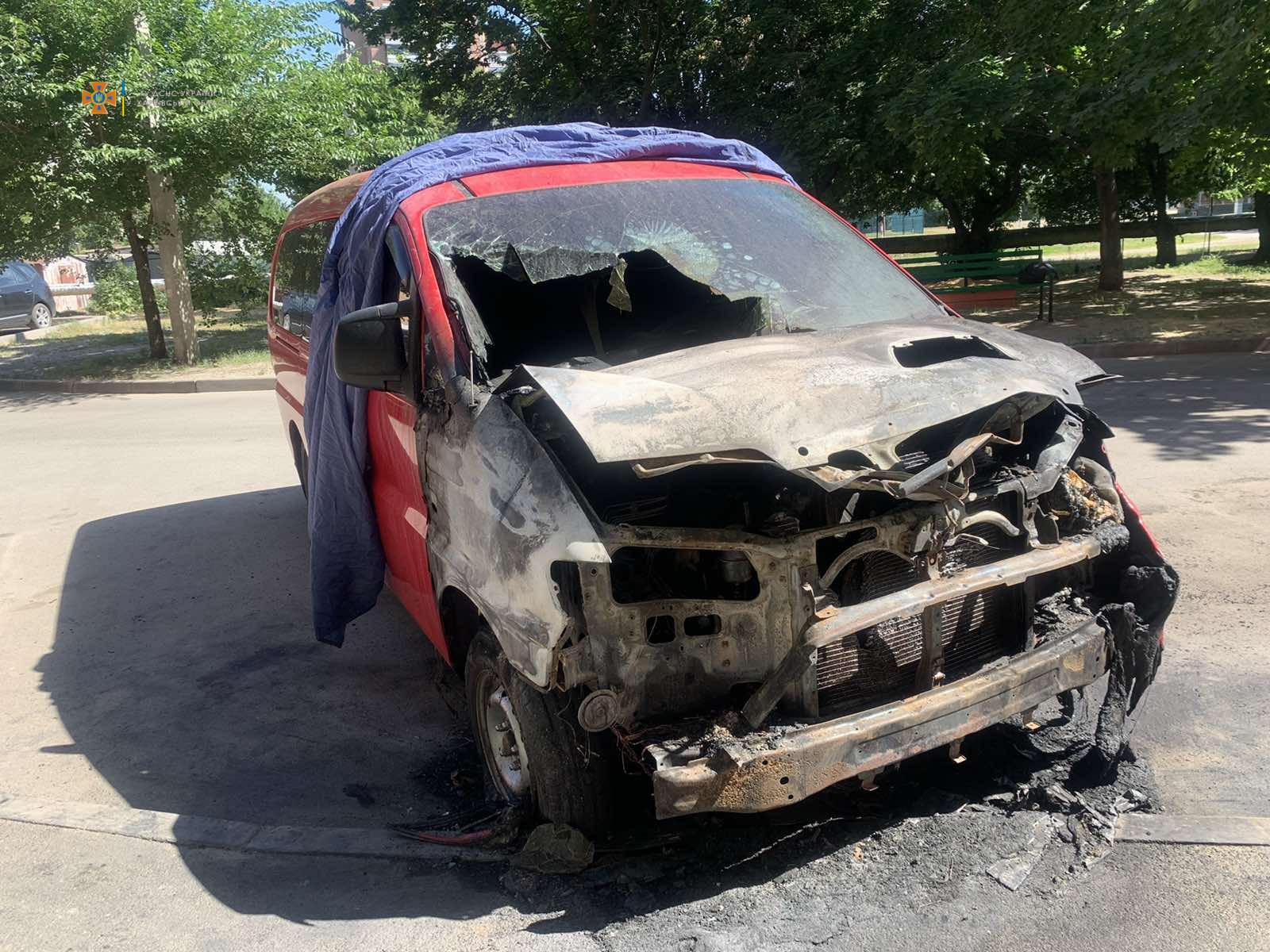 Пожар Харьков: ночью подожгли автомобиль