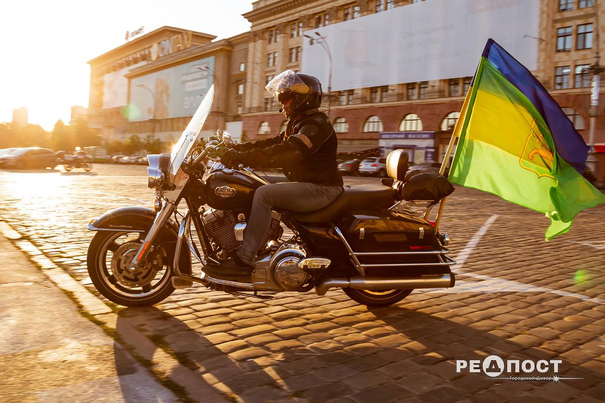 Всеукраинский мотопробег единства в Харькове