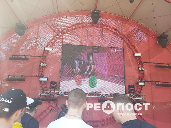 Олимпийская фан-зона в Харькове