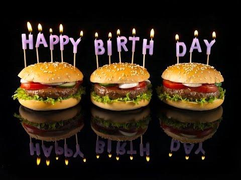 День рождения гамбургера