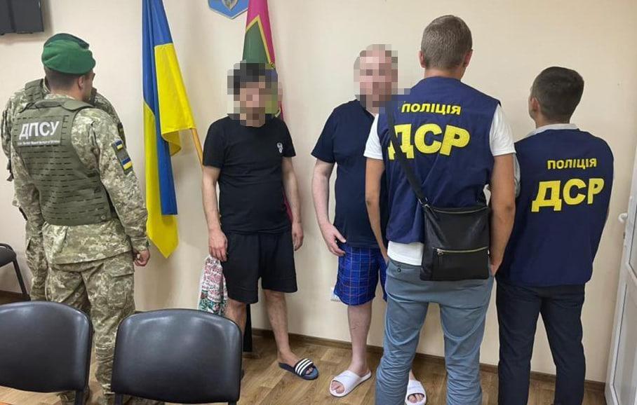 Криминальные авторитеты в подсолнухах были задержаны пограничниками. Новости Харькова