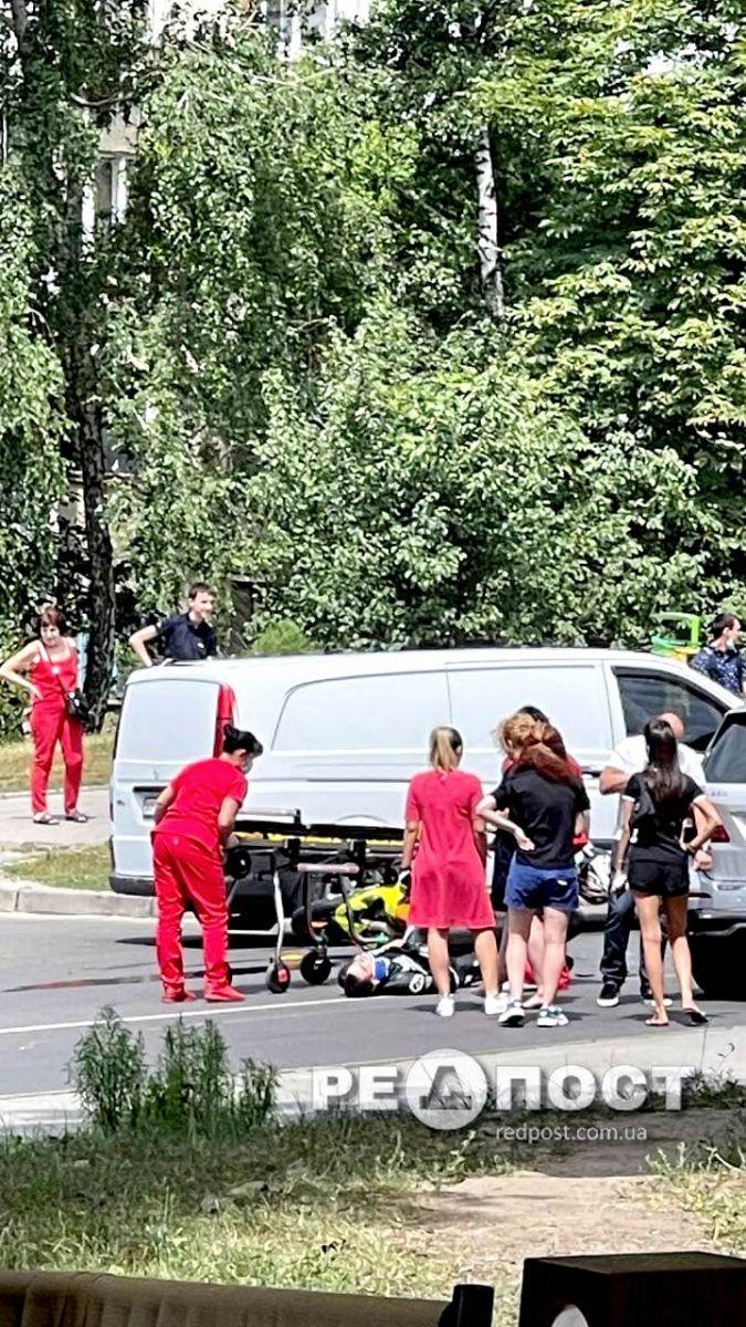 ДТП Харьков: авария с мотоциклом и джипом на Космической