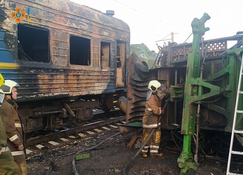 Авария на переезде в Решетиловке под Полтавой