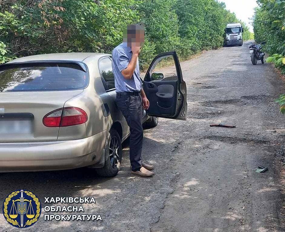 Попытка ограбить фермеров в Харьковской области