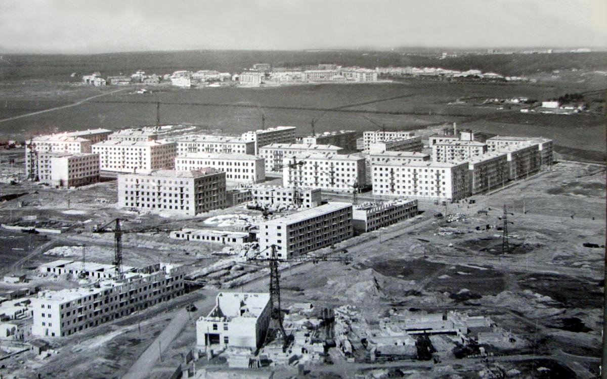 Стройка района Павлово Поле