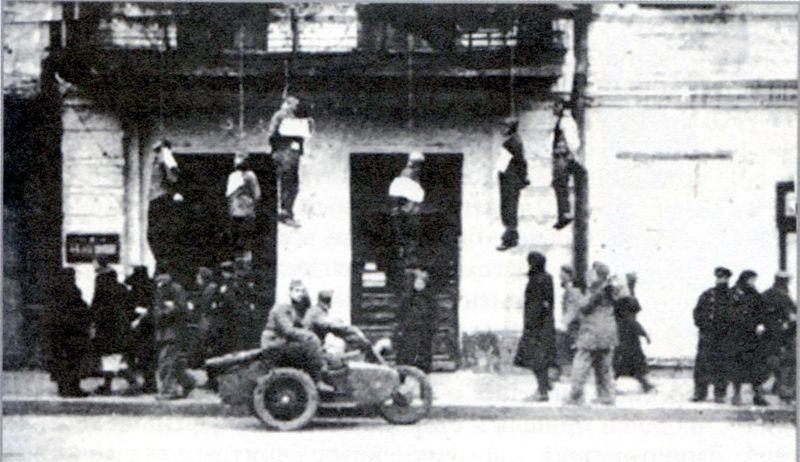 Место казни харьковчан по улице Сумской