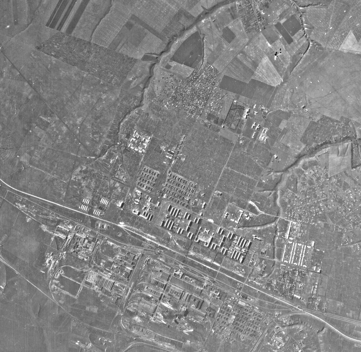 Район ХТЗ во время Второй мировой войны