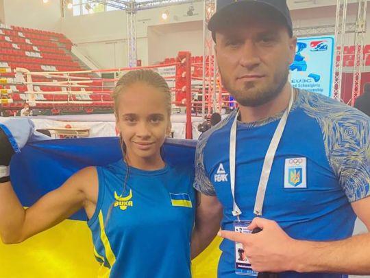 Кира Макогоненко стала чемпионкой Европы по боксу. Новости Харькова