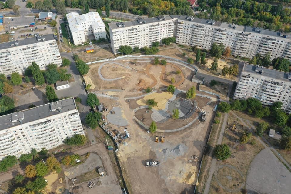 Современная локация для отдыха и спорта появится на Горизонте в Харькове