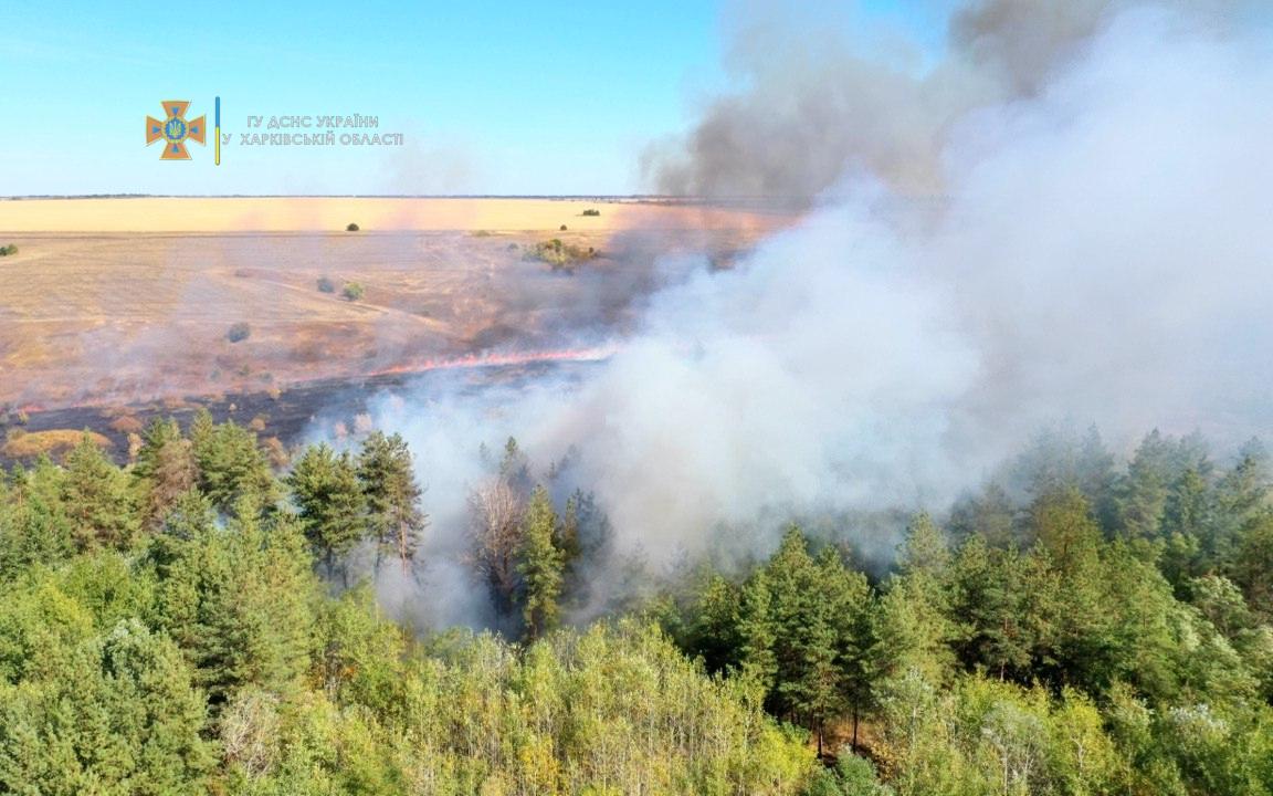 Пожары на Харьковщине