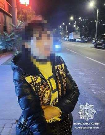 В Харькове задержали закладчицу ночью 28 сентября 2021 года.