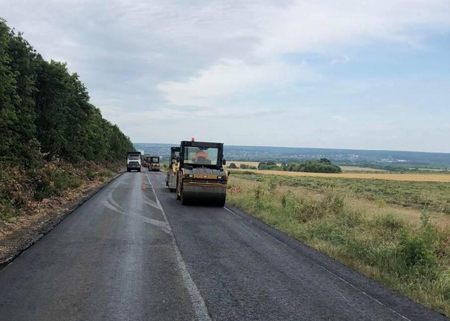 Отремонтирован участок дороги к санаторию Березовские минеральные воды